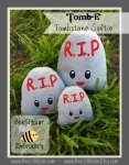 'Tomb-E' tombstone softie ITH - 3 sizes